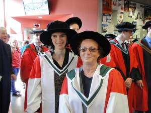 Conferring of Dr Pat Bonello and Dr Marguerite Hughes
